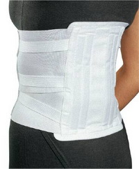 Lumbar Support Procare™ Medium / Large Elastic / Felt 36 to 40 Inch
