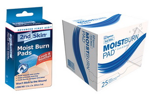 2ND Skin Moist Pad ST 2x1.5